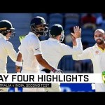Australia storm ahead in captivating Test   Second Domain Test