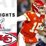 Patriots vs. Chiefs AFC Championship Highlights | NFL 2018 Playoffs
