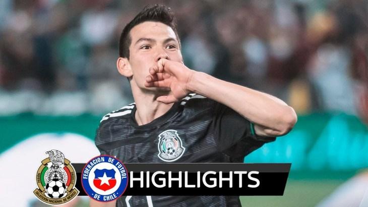 México vs Chile 3-1 | Resumen Goles | Amistoso Internacional | 2019 HD