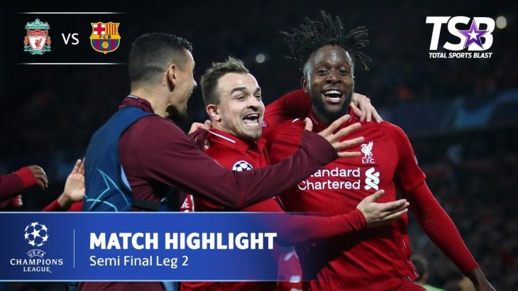 LIVERPOOL 4 – 0 BARCELONA | HIGHLIGHT | AGG 4-3 SF LEG 2 | 8 MEI 2019 | LIGA CHAMPIONS