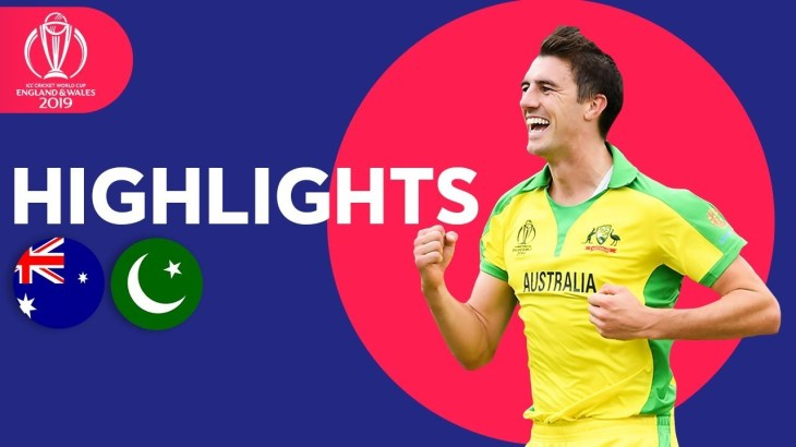 Australia vs Pakistan – Match Highlights | ICC Cricket World Cup 2019