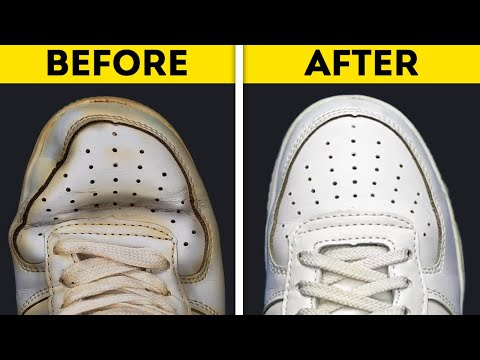 36 EASY HACKS TO GIVE A SECOND LIFE TO YOUR CLOTHES AND SHOES