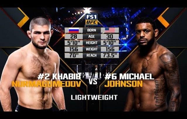 UFC 242 Free Fight: Khabib Nurmagomedov vs Michael Johnson