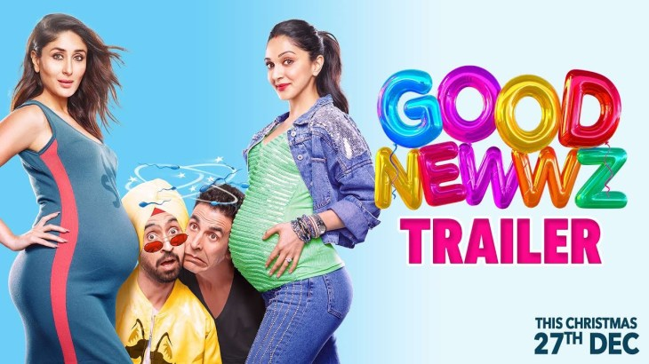 Good Newwz – Official Trailer | Akshay, Kareena, Diljit, Kiara | Raj Mehta | In cinemas 27th Dec
