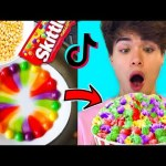GENIUS TikTok Food Hacks To Do When You're Bored at Home!