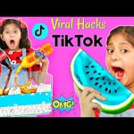 I Tested VIRAL TikTok Life TRICKS/HACKS to see if they WORK | MyMissAnand