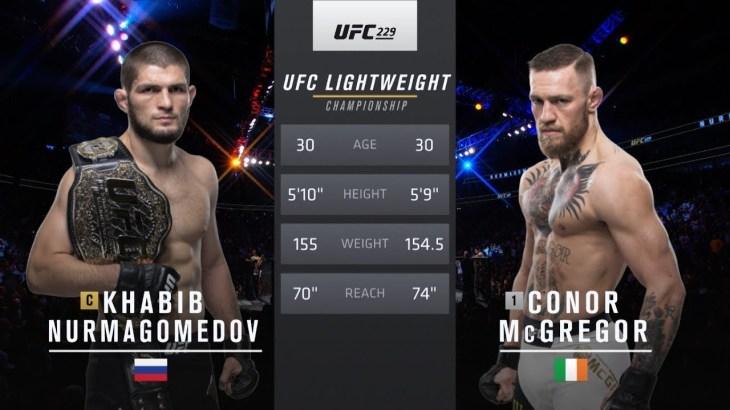 Free Fight: Khabib Nurmagomedov vs Conor McGregor | UFC 229, 2018