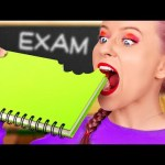 COOL IDEAS FOR SNEAKING FOOD AND SCHOOL SUPPLIES || Fun Into Class Life Hacks by 123 GO! SCHOOL