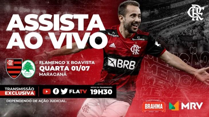 Flamengo x Boavista Ao Vivo – Taça Rio