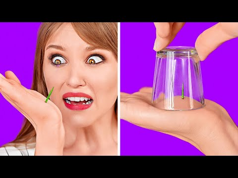 CRAZY HACKS THAT ACTUALLY WORK || Cool And Funny Tricks by 123 GO!