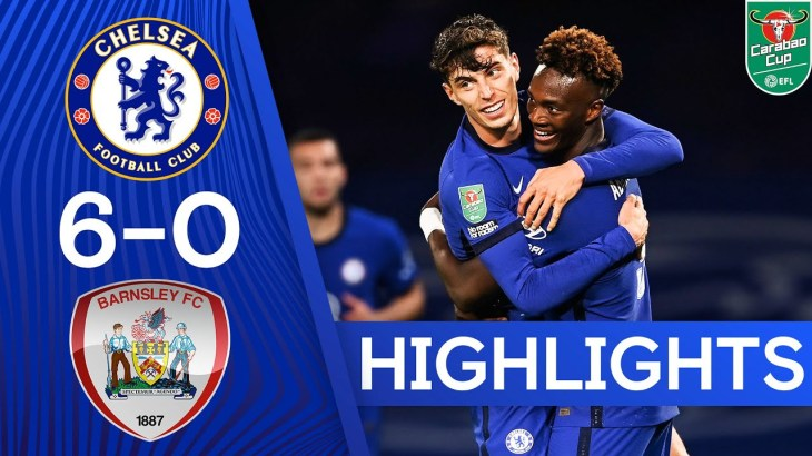 Chelsea 6-0 Barnsley   Havertz Hat-Trick and Silva Debut as Blues Hit 6!   Carabao Cup Highlights