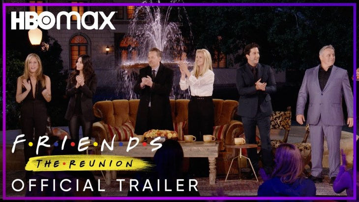 Friends: The Reunion   Official Trailer   HBO Max
