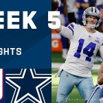 Giants vs. Cowboys Week 5 Highlights | NFL 2020