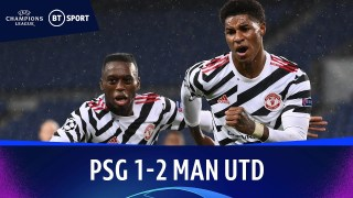 PSG v Manchester United (1-2) | Champions League Highlights
