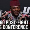 UFC 260: Post-fight Press Conference