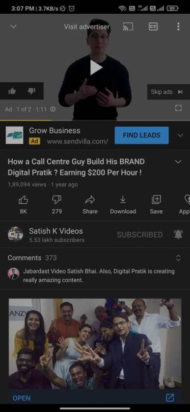 Why do there have to be Ads on YouTube?