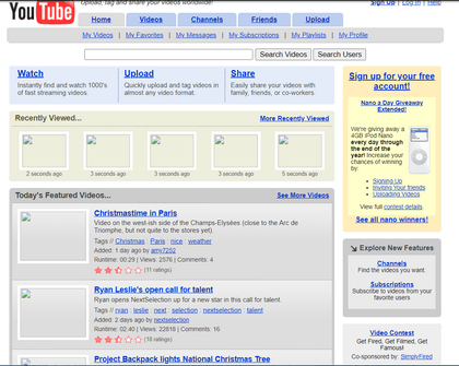 What Was YouTube Initial User Acquisition Strategy?