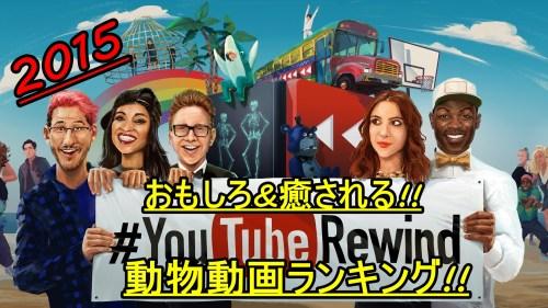 YouTube2015面白・癒し動画ランキング01