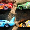 Cars McQueen and Thomas &Friends under the sand -Learn Colors for kids toy