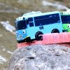Tayo the Little Bus Falling in Water – Learn colors & Numbers Toy for Children