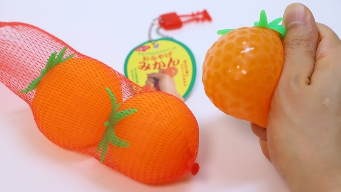 Orbeez Mandarin Orange Squishy Squeeze Toys