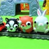 Thomas and Percy carry animals that pop their eyes!Animals fall!for kids!yupyon