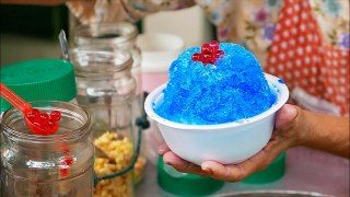 Thai Street Food – RAINBOW ICE CREAM Bangkok Phuket Dessert Thailand