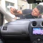 [禁断ボーイズ]運転中にDQNの当たり屋がぶつかって来て恐喝してくるドッキリ