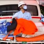 [はなお .ohaerisu menten.]でんがんが救急車で運ばれました。