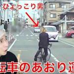 [PDRさん]自転車のあおり運転をするひょっこり男がヤバすぎる。。。