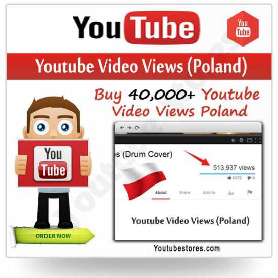 Poland Youtube Video Views