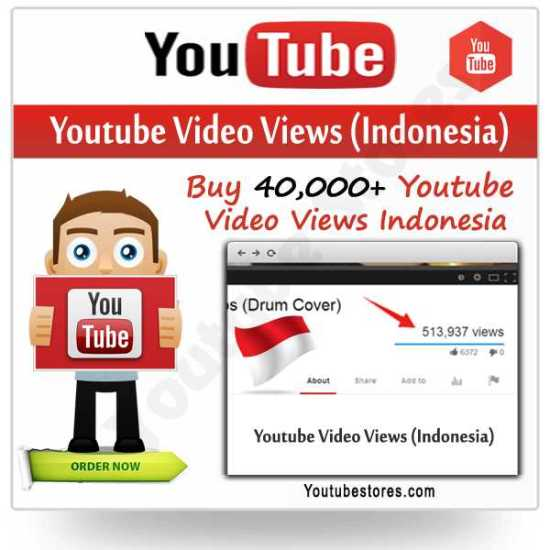 Indonesia Youtube Video Views