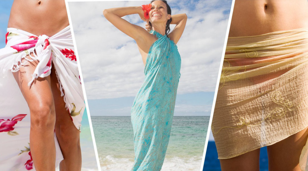 90843896f1fe Cómo combinar y lucir el pareo perfecto en la playa
