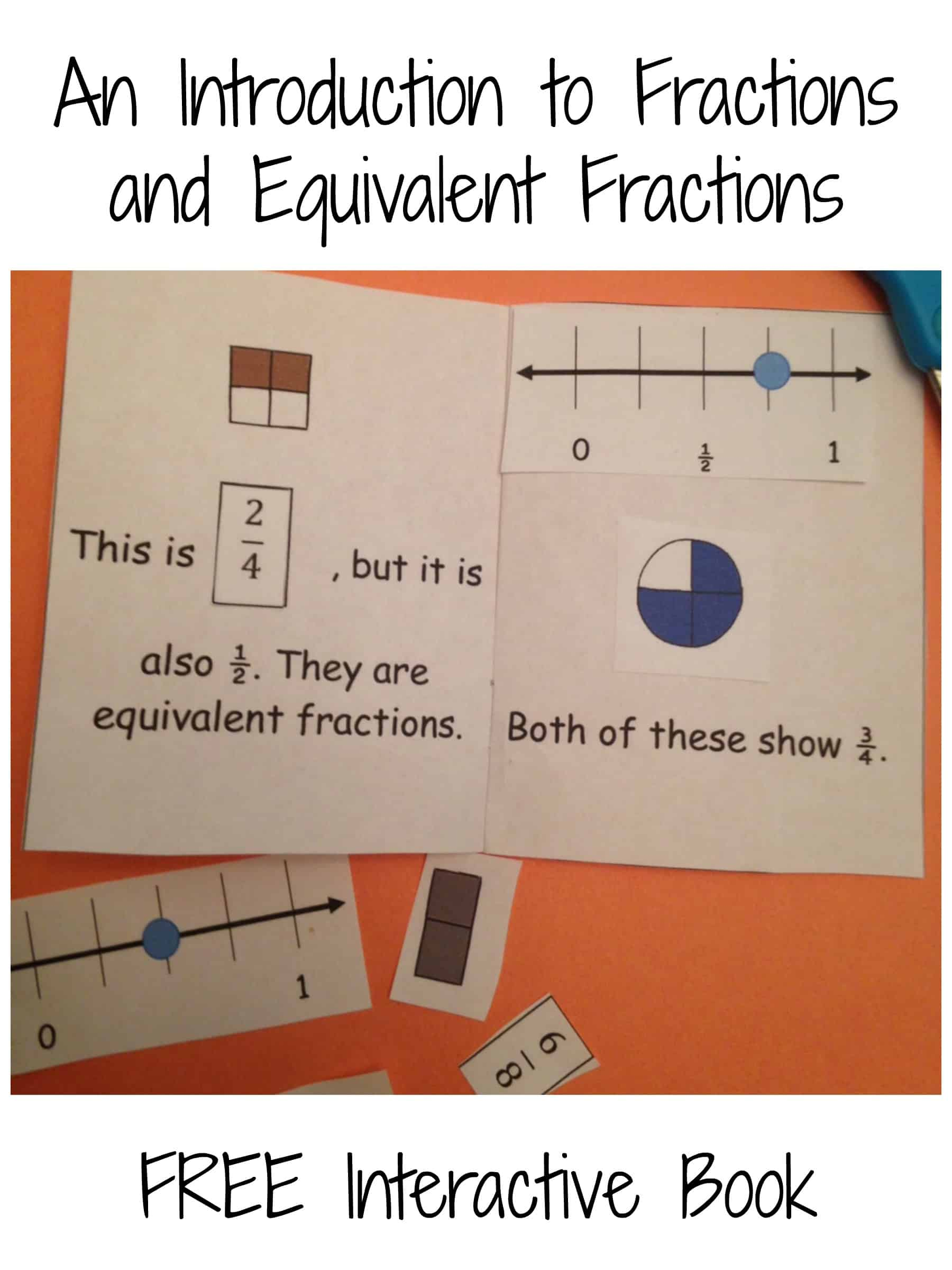 Teaching Fractions And Free Fraction Clip Cards