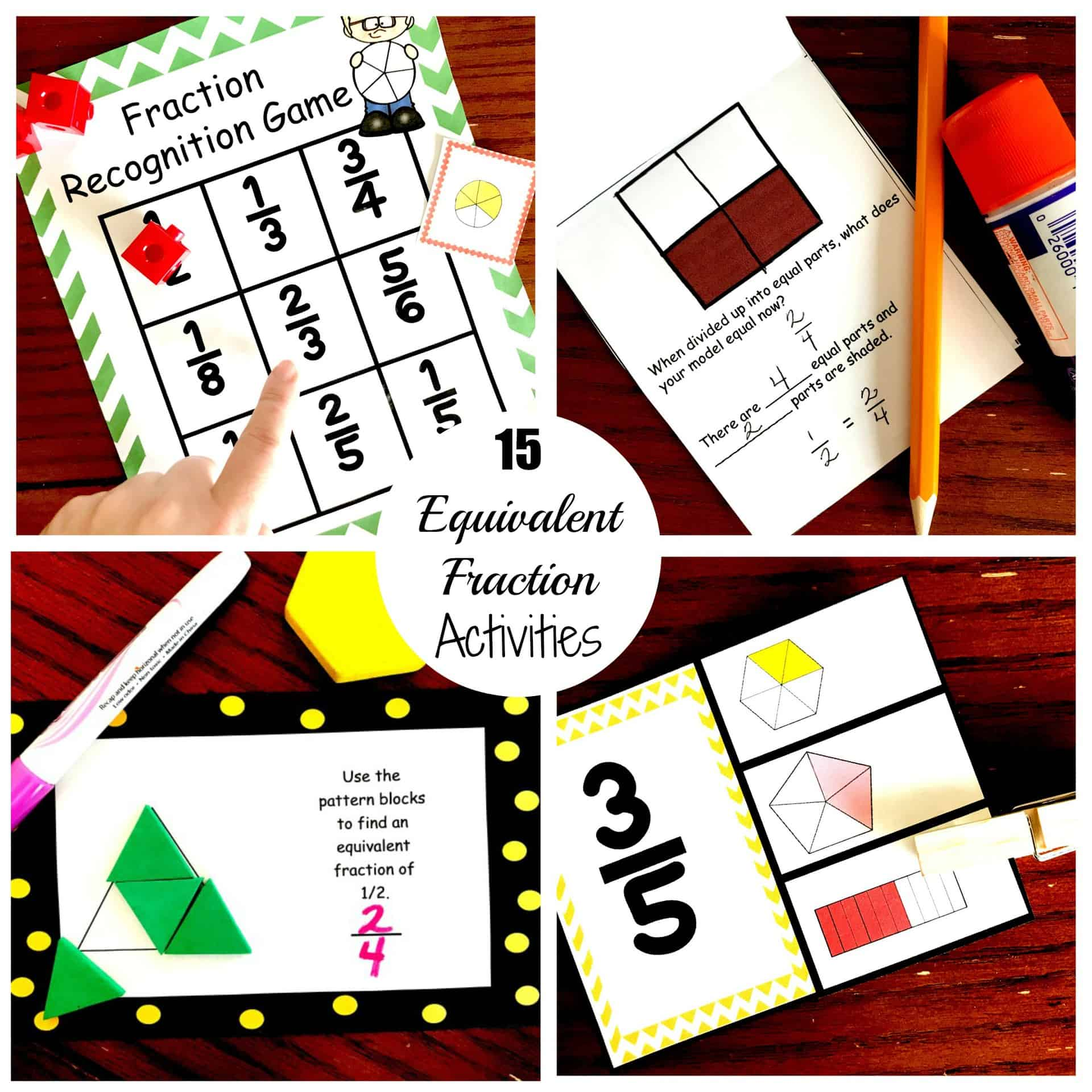 15 Fun and Exciting Ways to Teach Equivalent Fractions [ 2000 x 2000 Pixel ]