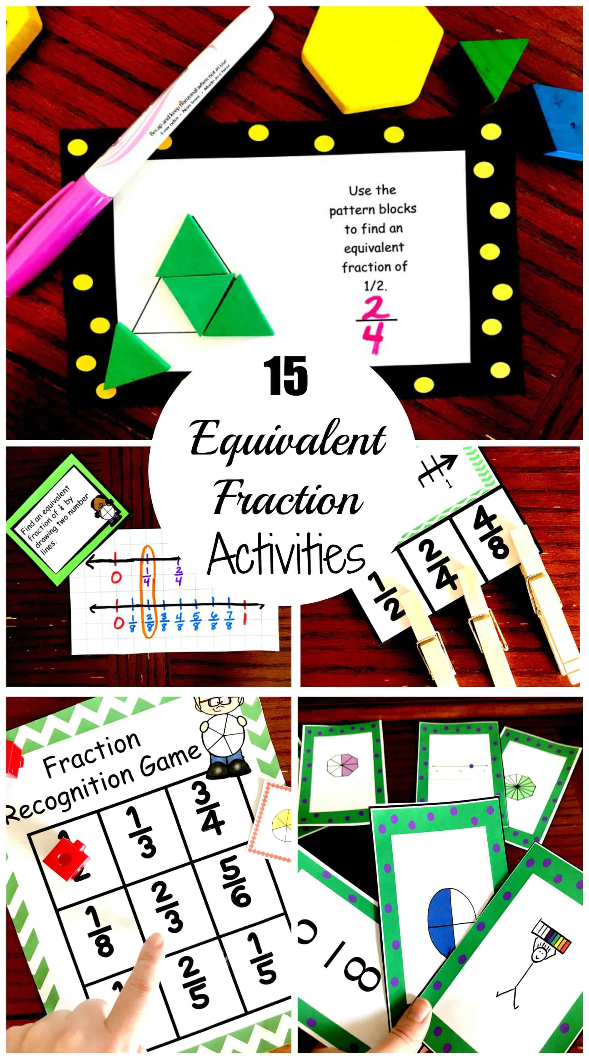 15 Fun and Exciting Ways to Teach Equivalent Fractions [ 3400 x 1884 Pixel ]