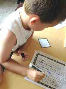 N solving number puzzle