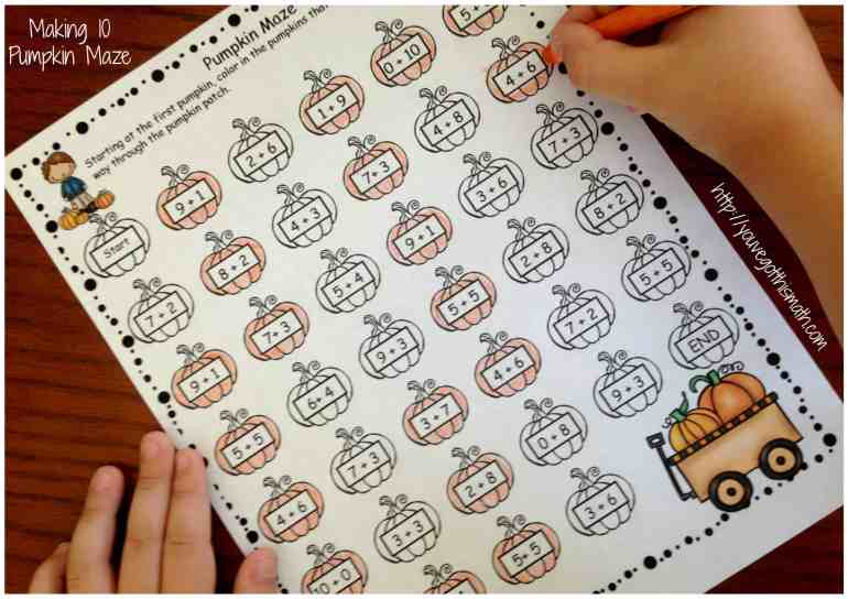 making-10-pumpkin-maze