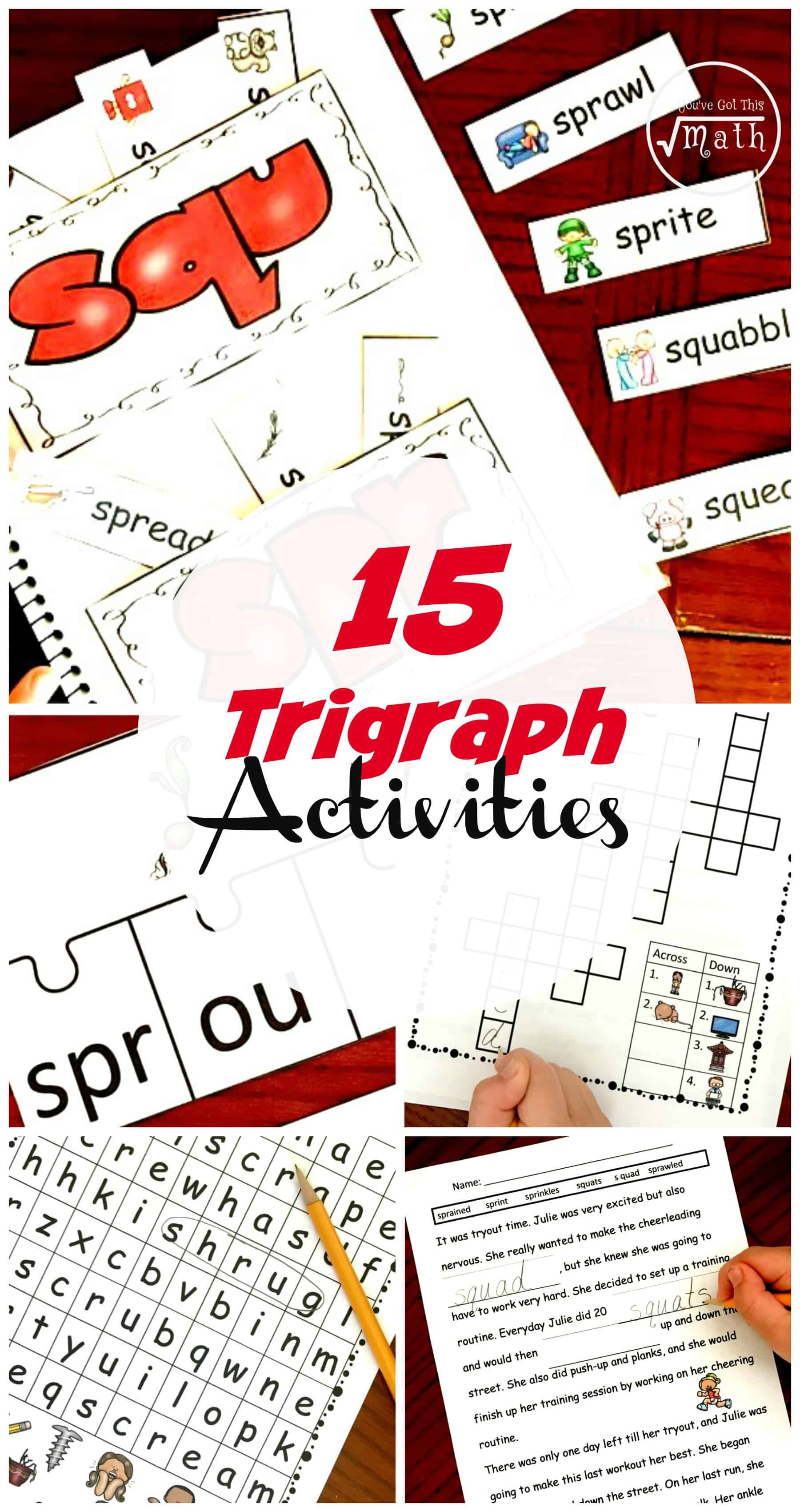 15 Hands-On and Fun Trigraph Activities (Consonant Clusters) [ 3400 x 1800 Pixel ]