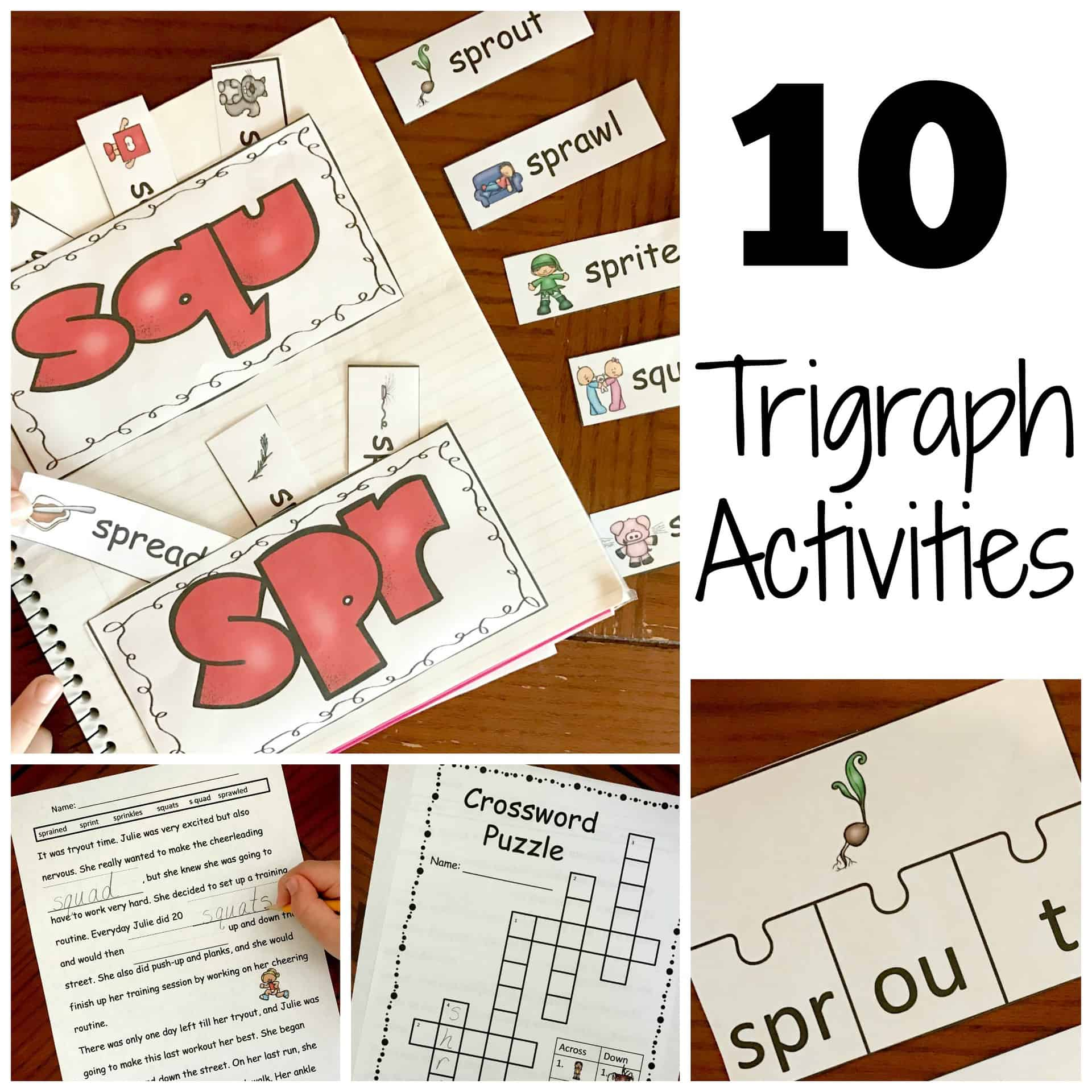 10 Activities For Teaching Trigraphs With A Free Coloring Printable