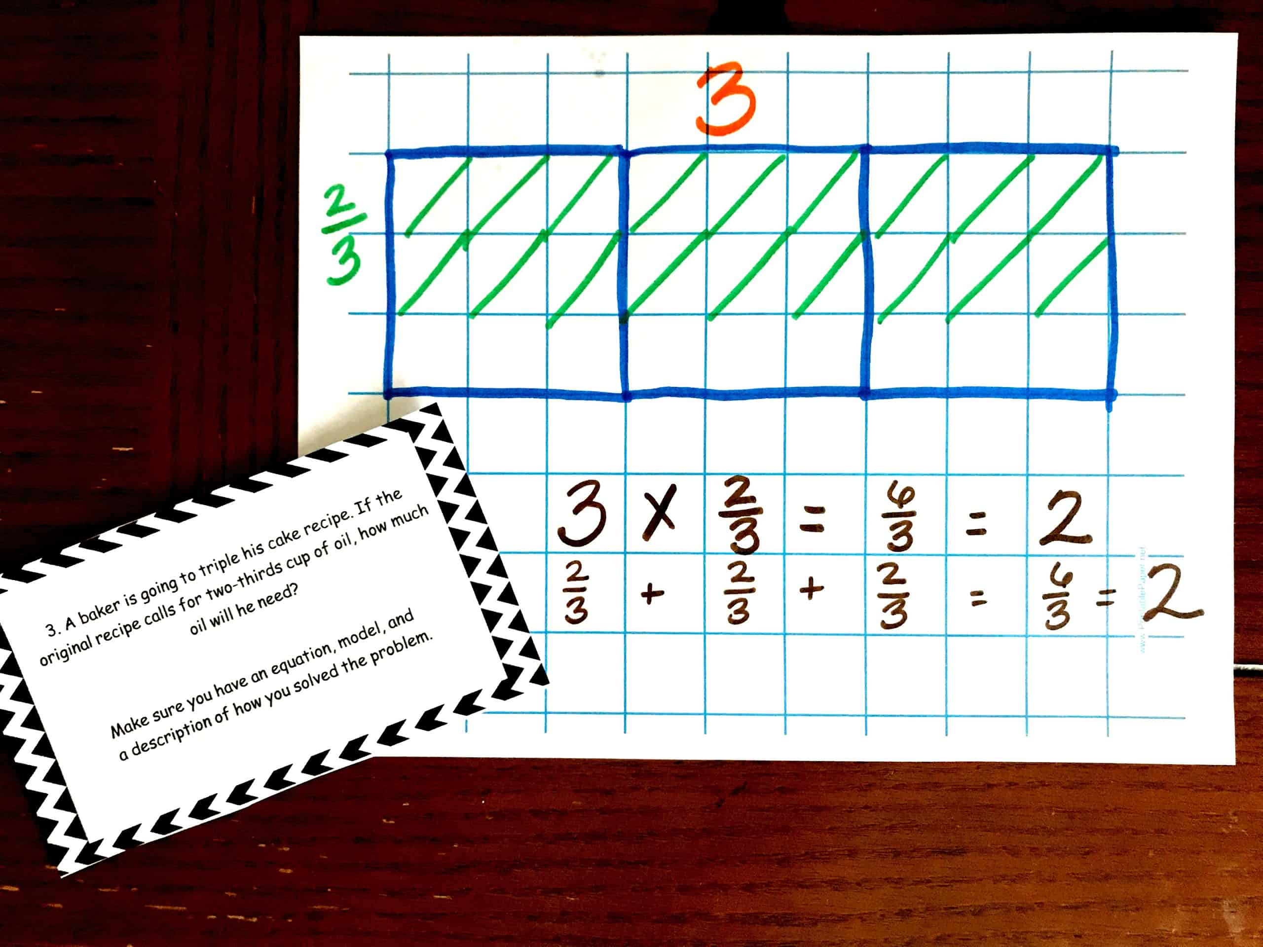 20 Word Problems For Multiplying Fractions By Whole Numbers