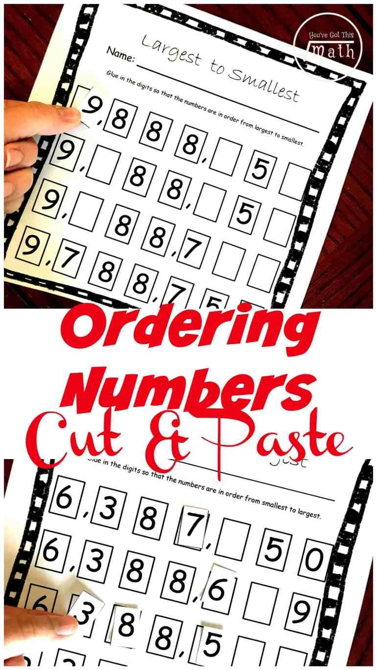 FREE Ascending and Descending Order Worksheets For Large Numbers