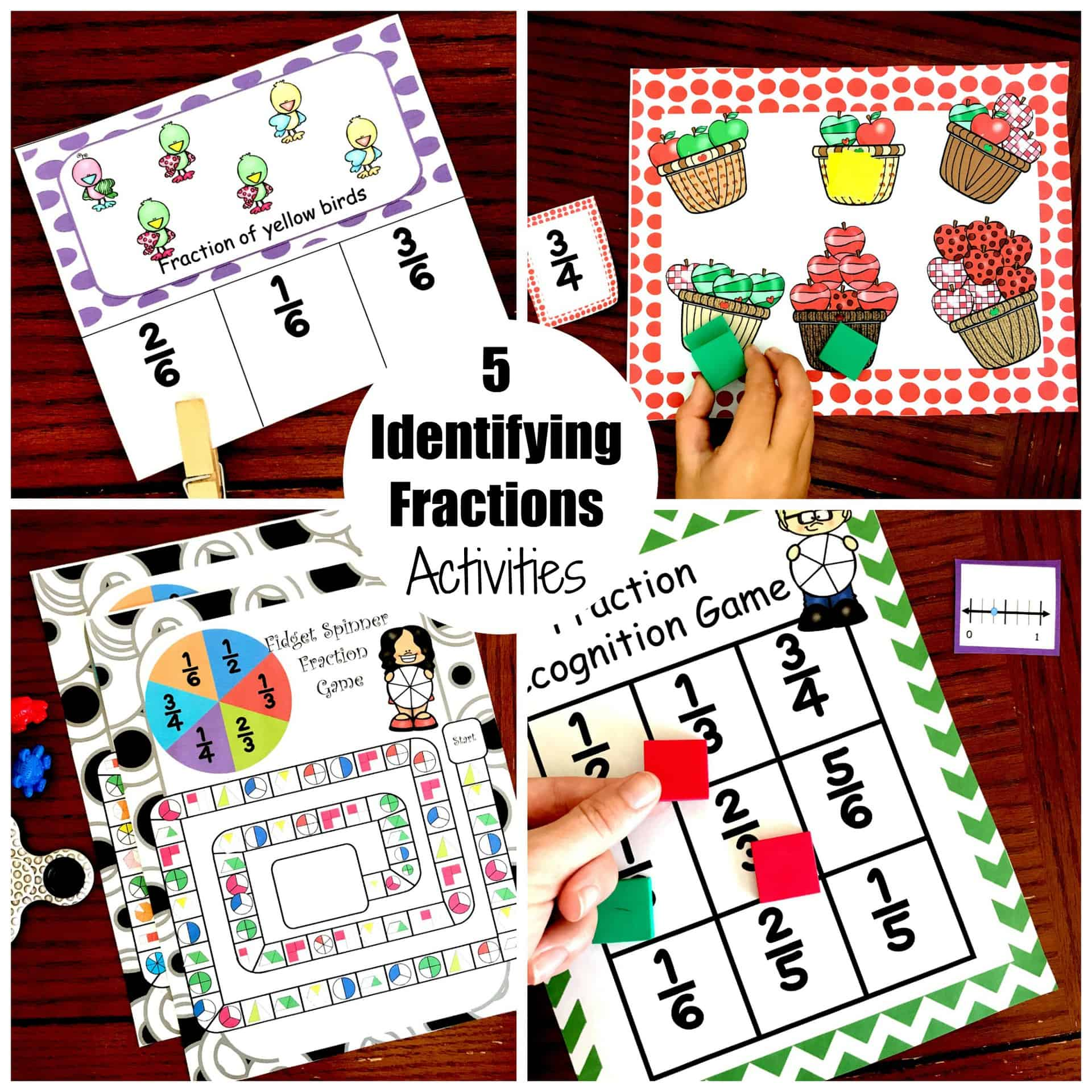 5 Activities To Help Children Learn Fractions Denominator And Numerator