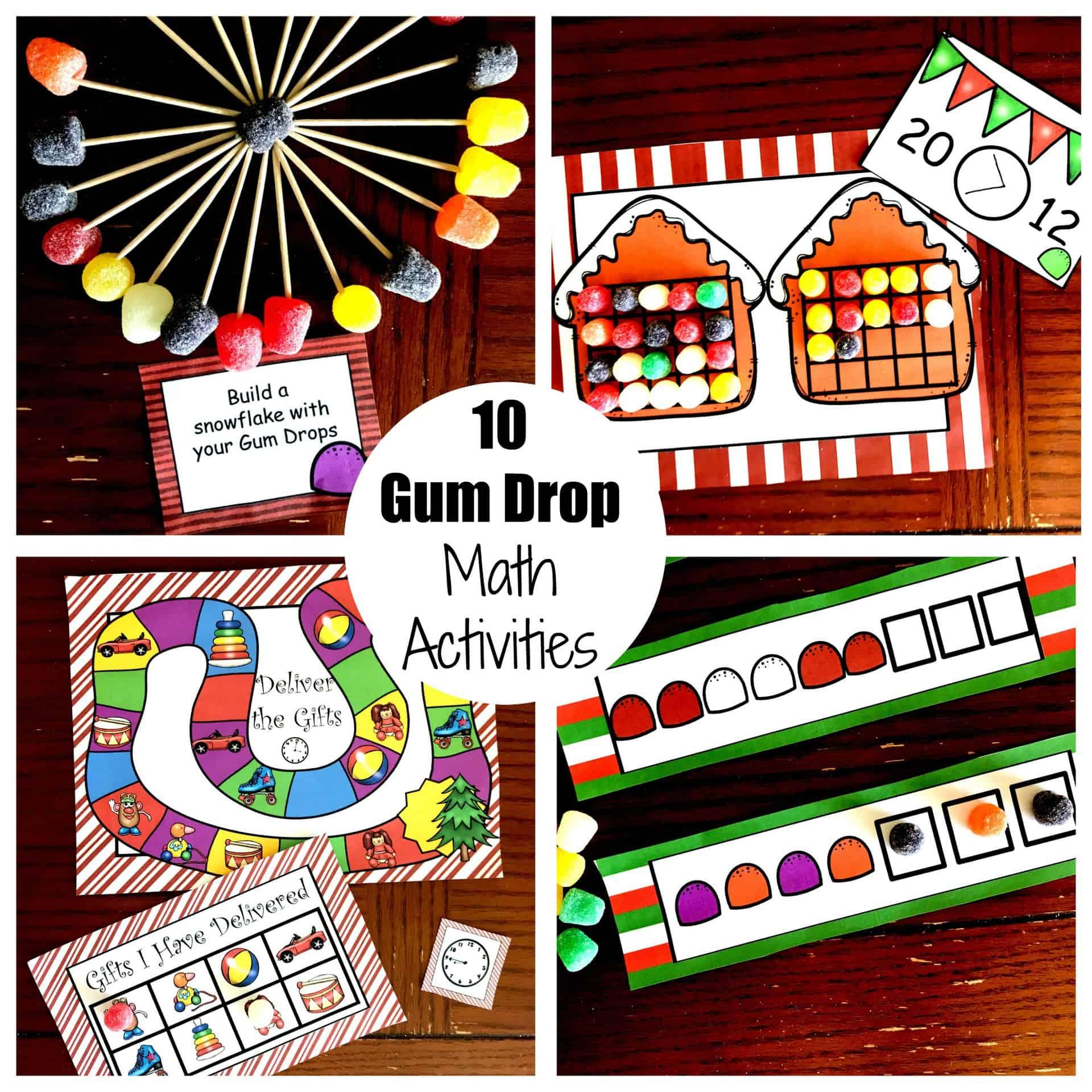 10 Gum Drop Math Activities For Kindergarten Through Fifth Grade