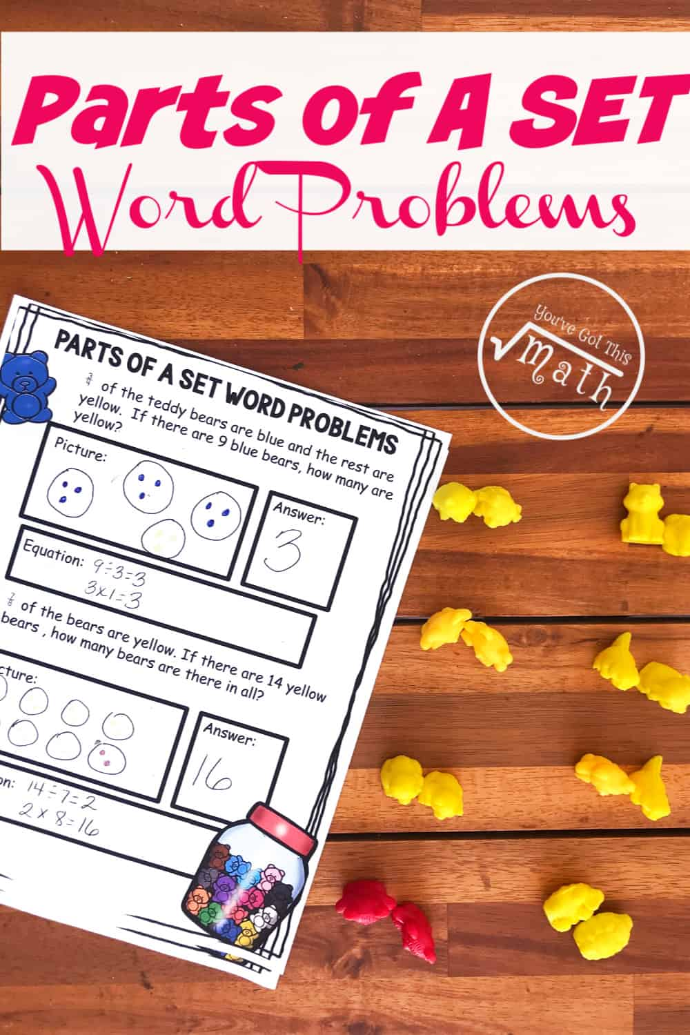 Grab These Free Fraction Of A Group Word Problems [ 1500 x 1000 Pixel ]