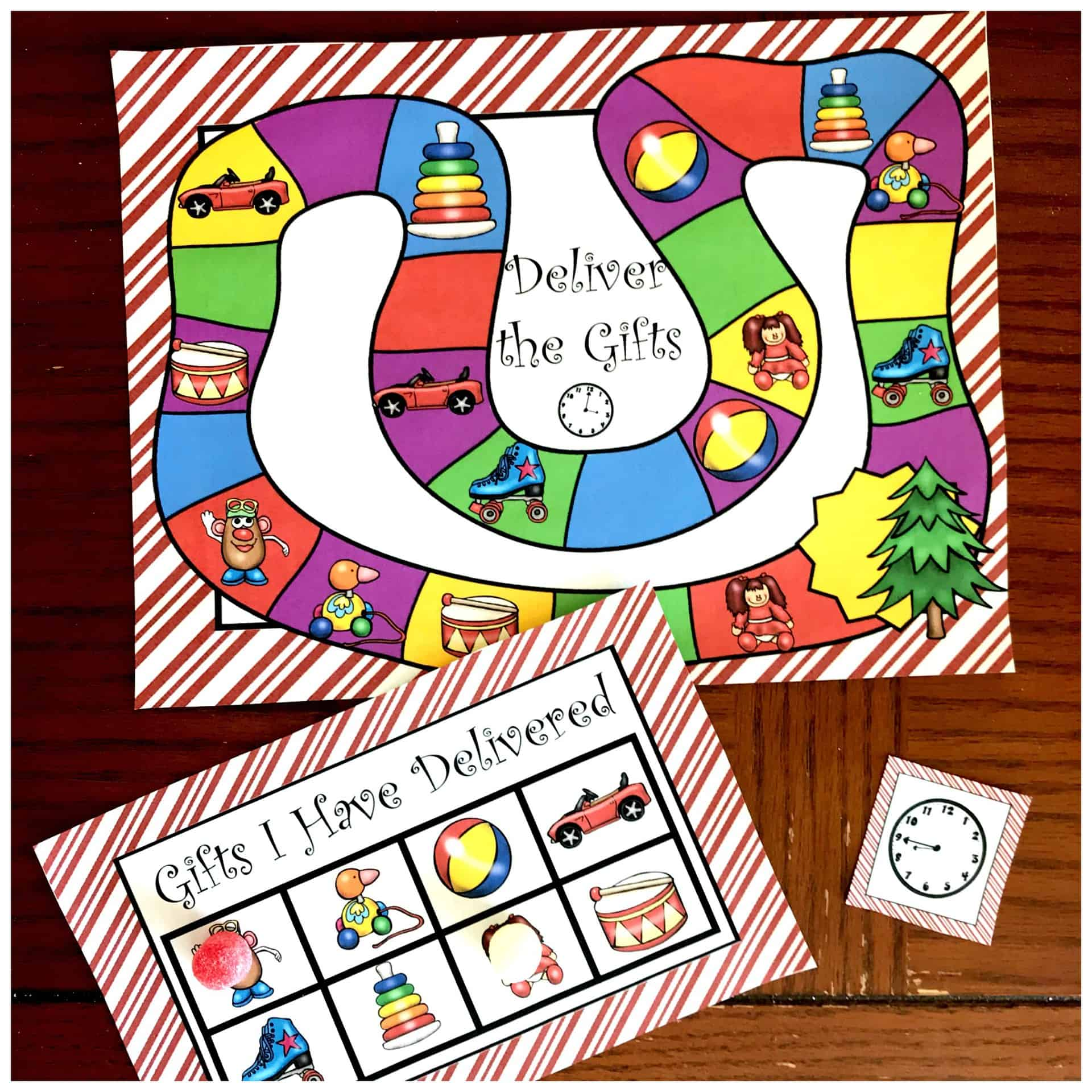 Here S A Printable Time Game To Practice Telling Time
