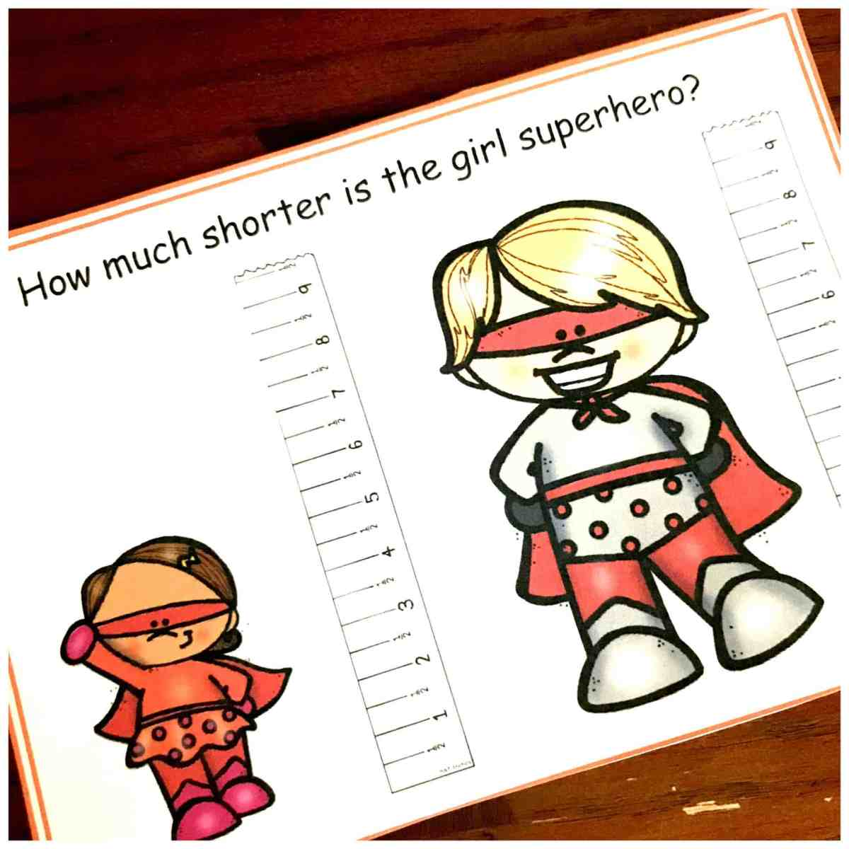 15 Task Cards To Help Students Practice Length Comparison
