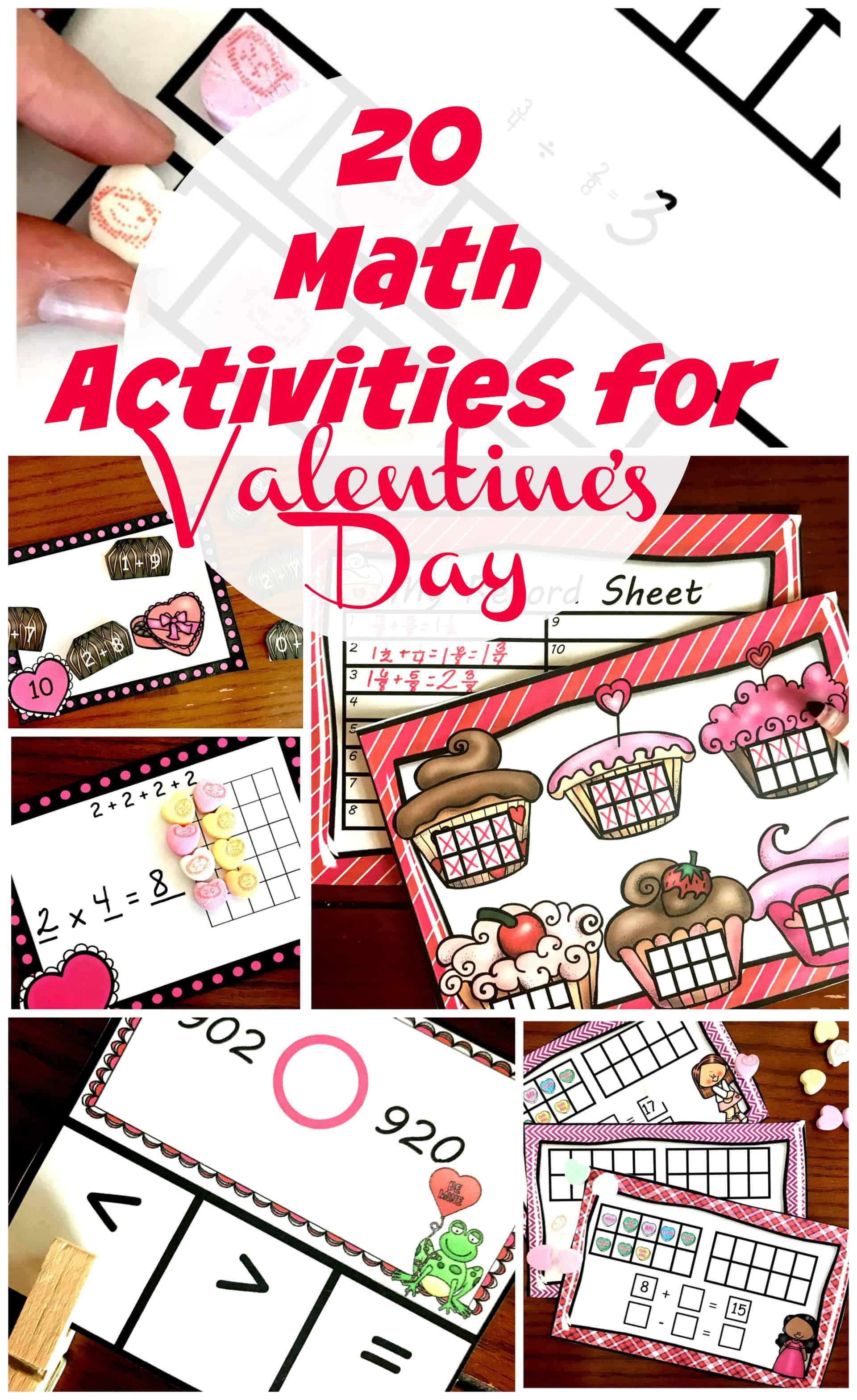 hight resolution of 20 Valentine Math Activities For Kindergarten Through 5th Graders