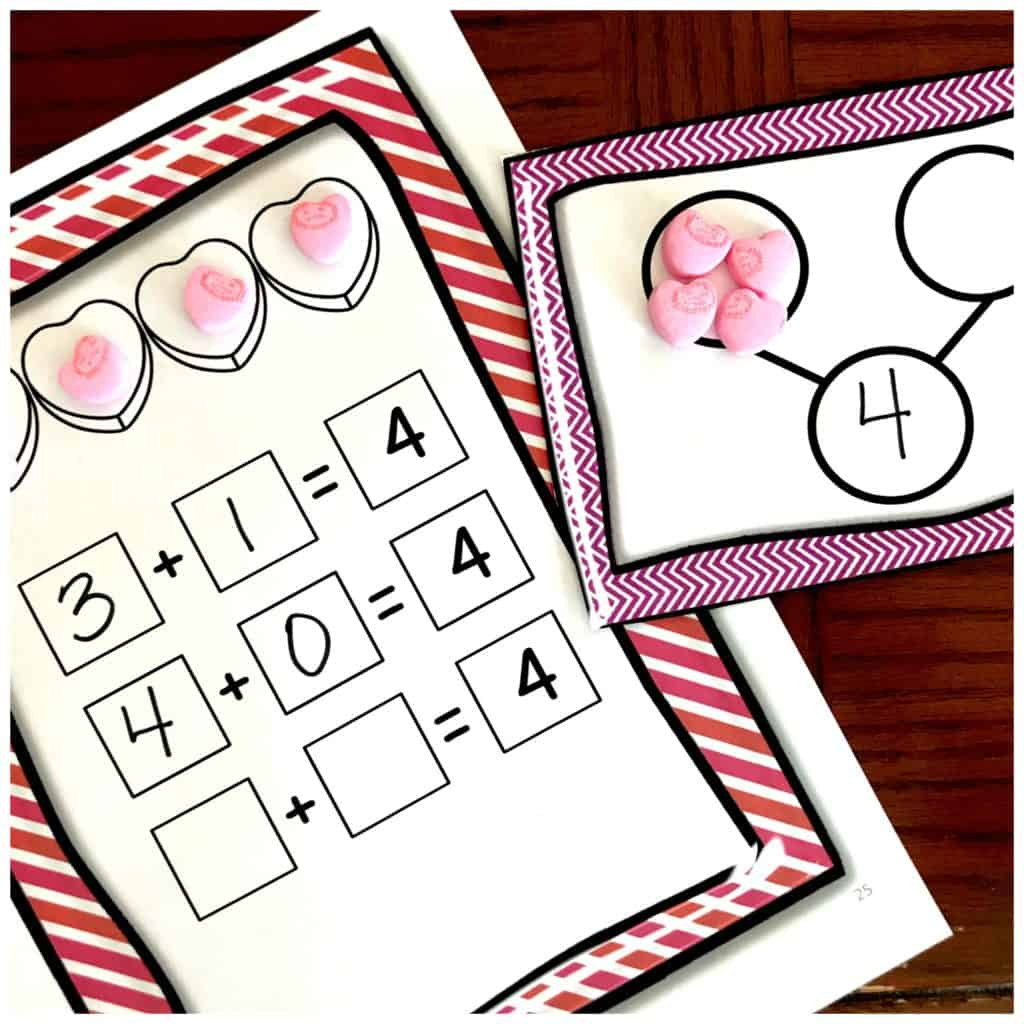 Eight Free Decomposing Numbers To 10 Worksheets