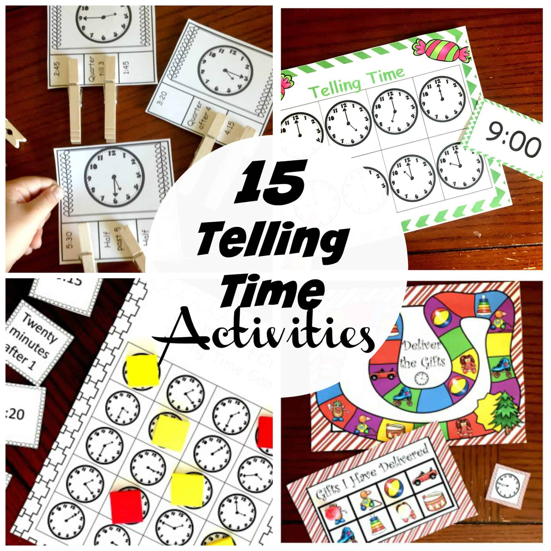 10 Remarkable Activities To Help Children Learn To Tell Time